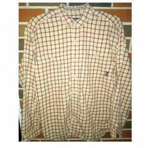 Patagonia Organic Cotton men's size shirt.